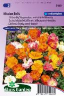 California Poppy Mission Bells mix