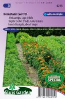 Marigold, French dwarf single Nematode control