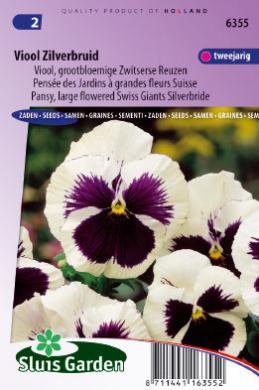 pens e des jardins grandes fleurs suisse silverbride graines de fleurs bisannuelles. Black Bedroom Furniture Sets. Home Design Ideas