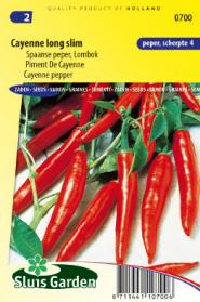 Piment De Cayenne Long Slim